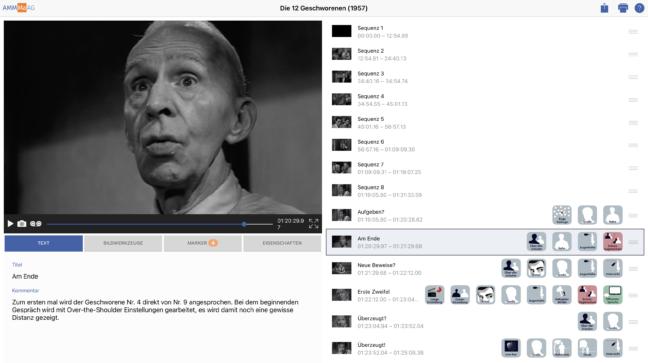 Screenshot Lichtblick Plattform mit Die 12 Geschworenen